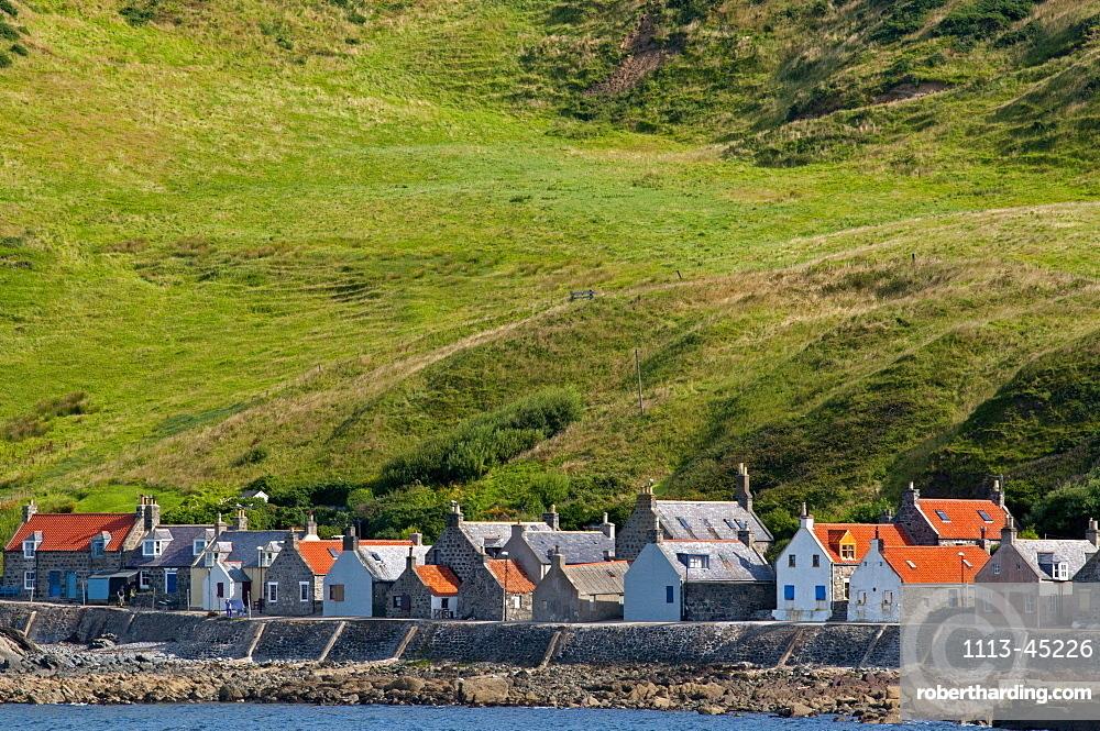 The village of Crovie, Aberdeenshire, Scotland