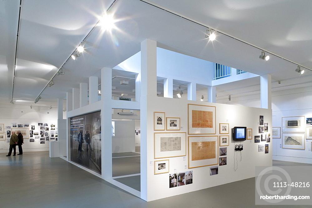 Deutsches Architekturmuseum, architect O M Ungers, Frankfurt am Main, Hesse, Germany, Europe
