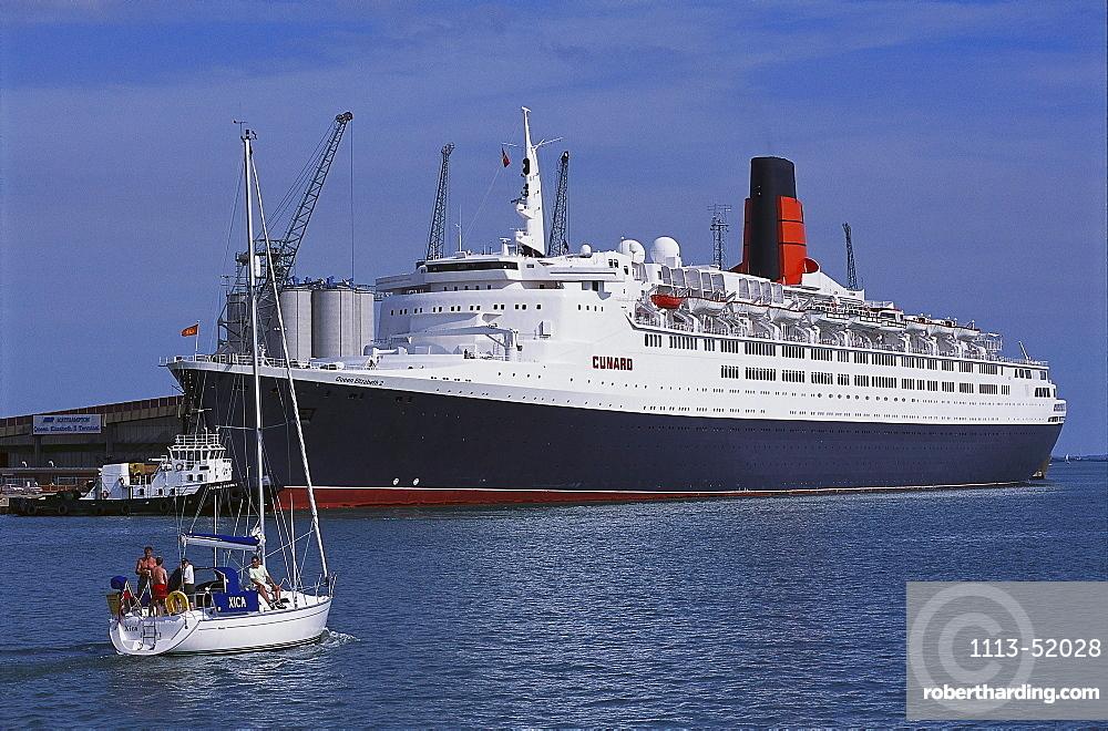 Queen Elisabeth II, Southampton, Hampshire, England, Great Britain
