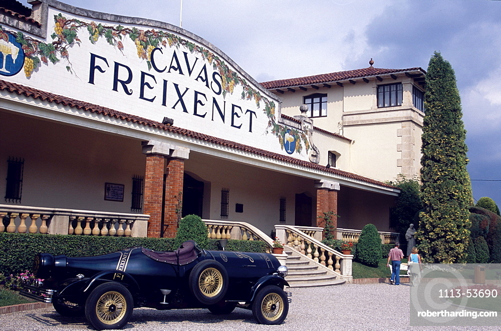 Freixenet Wine Cellar, Penedes, Cava Cellar, Sant Sadurni d'Anola, Catalonia, Spain