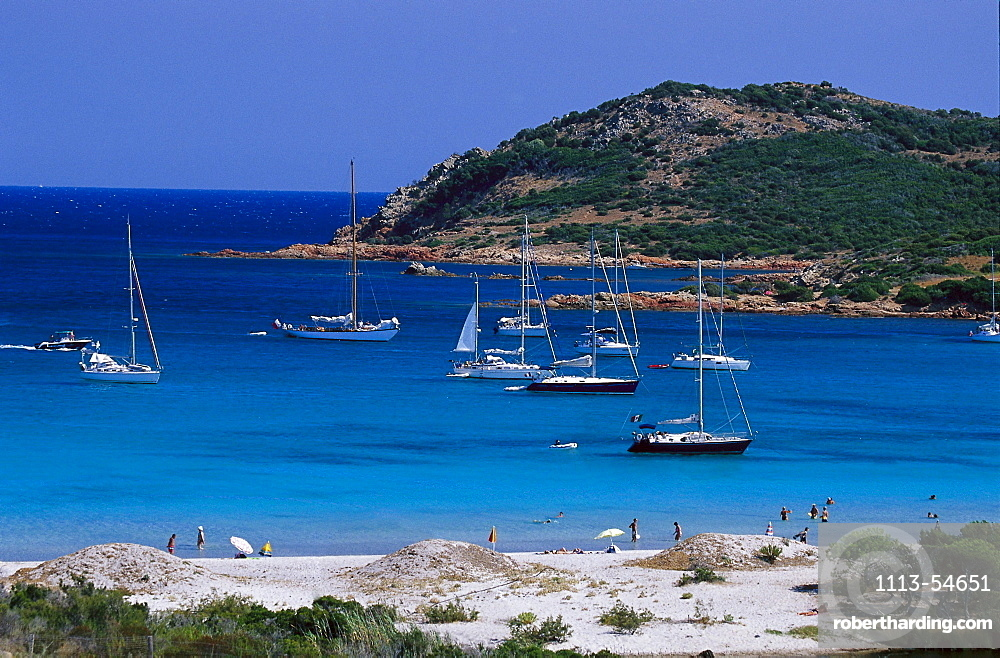Baie de Rodinara, east coast near Porto-Vecchio, Corsica, France