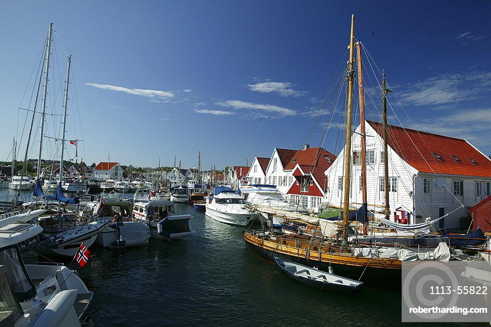 Harbour, Skudeneshavn, Rogaland, Norway