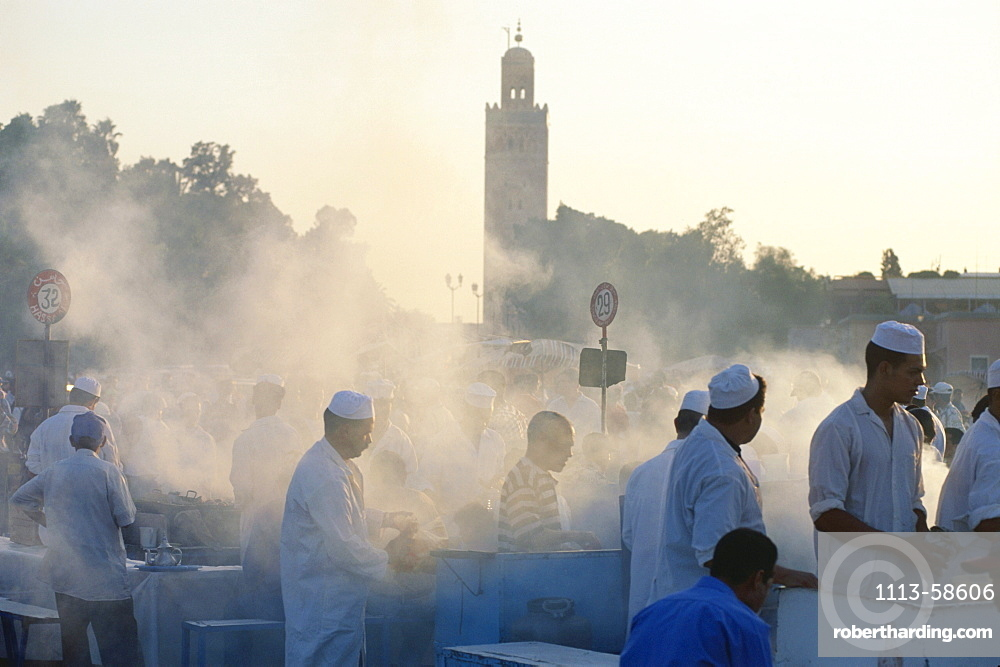 Jamna el Fna, Nightmarket, Marrakech, Morocco
