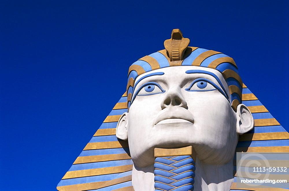 Detail of the Luxor Hotel, Las Vegas, Nevada, USA, America