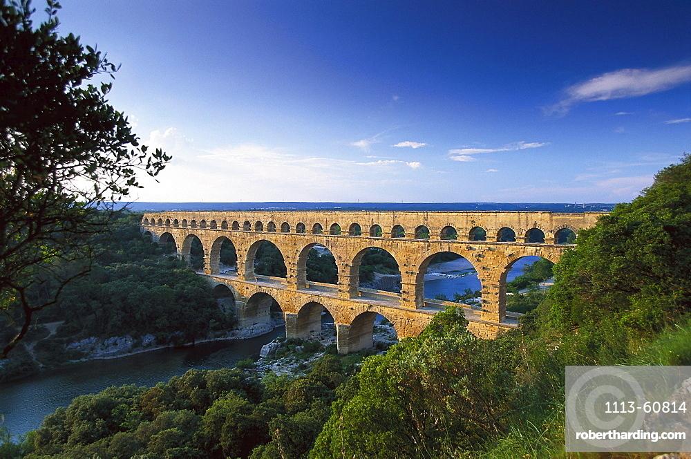 Pont du Gard, Valley of Gardon, Provence, France