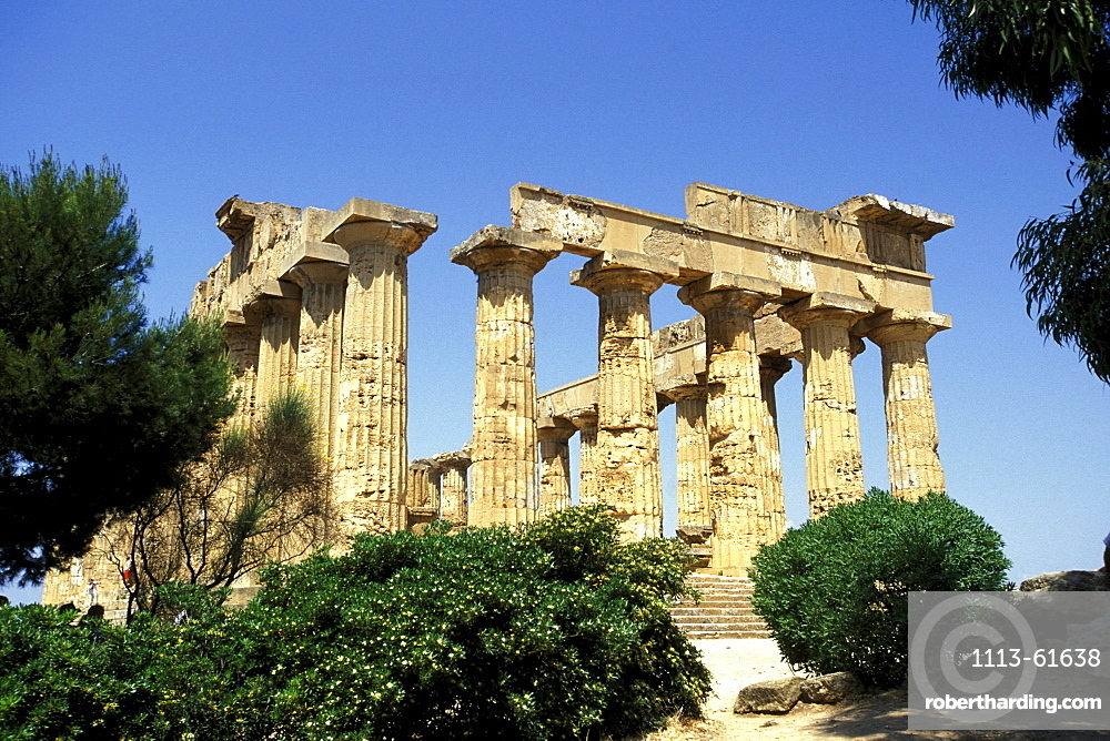 Temple of Selinunte, Sicily, Italy