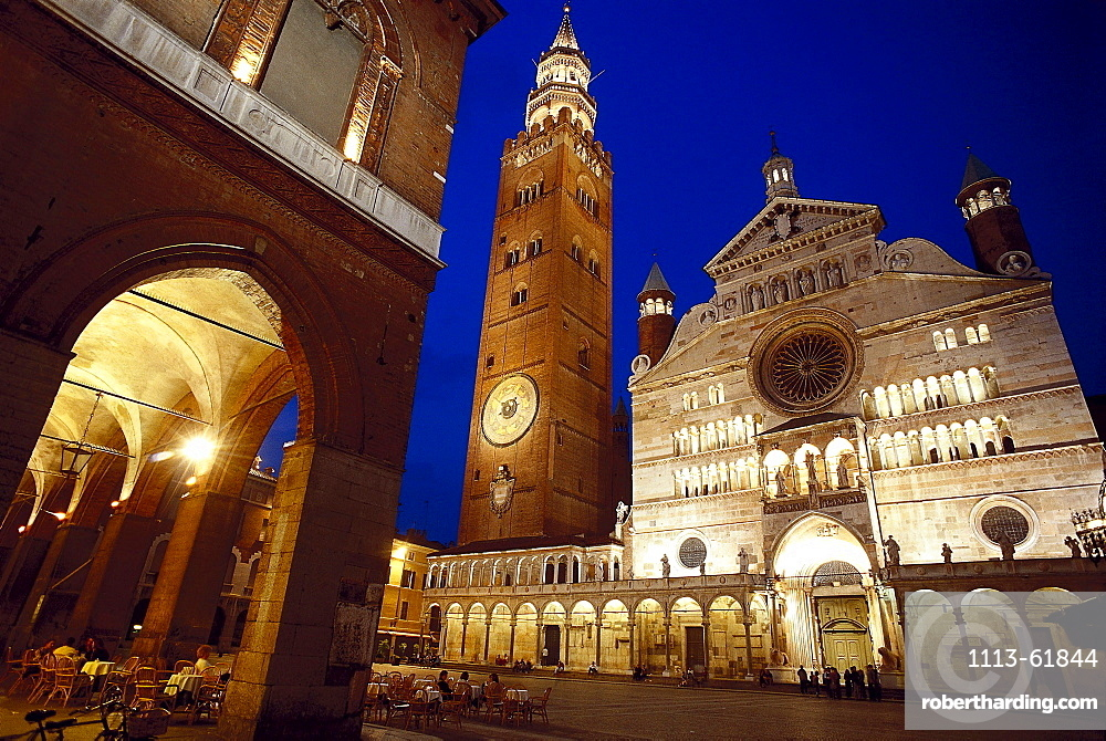 Cathedral Square, Cremona, Lombardy, Italy
