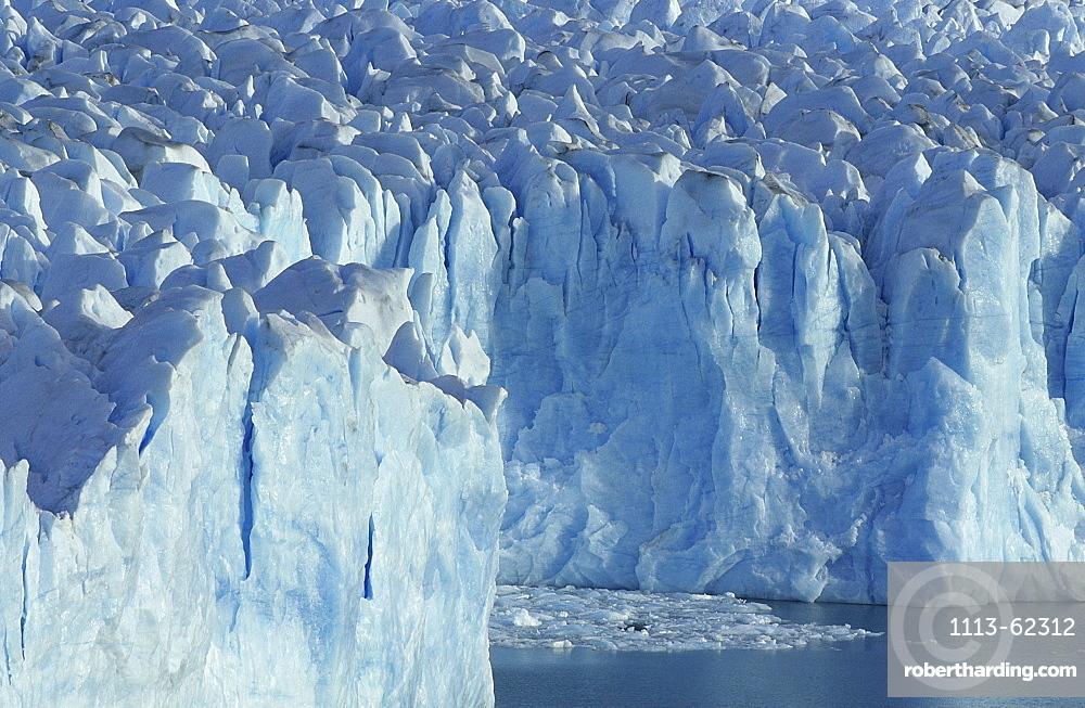 View at Perito Moreno glacier, El CaltÈn, Patagonia, Argentina, South America, America