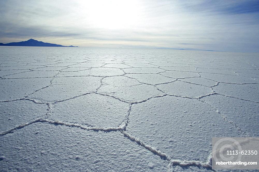 Salzsee, Salar de Uyuni, Bolivia