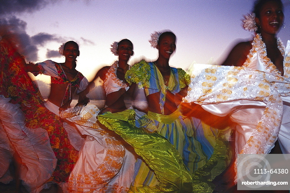 Saga dancers, Mauritius