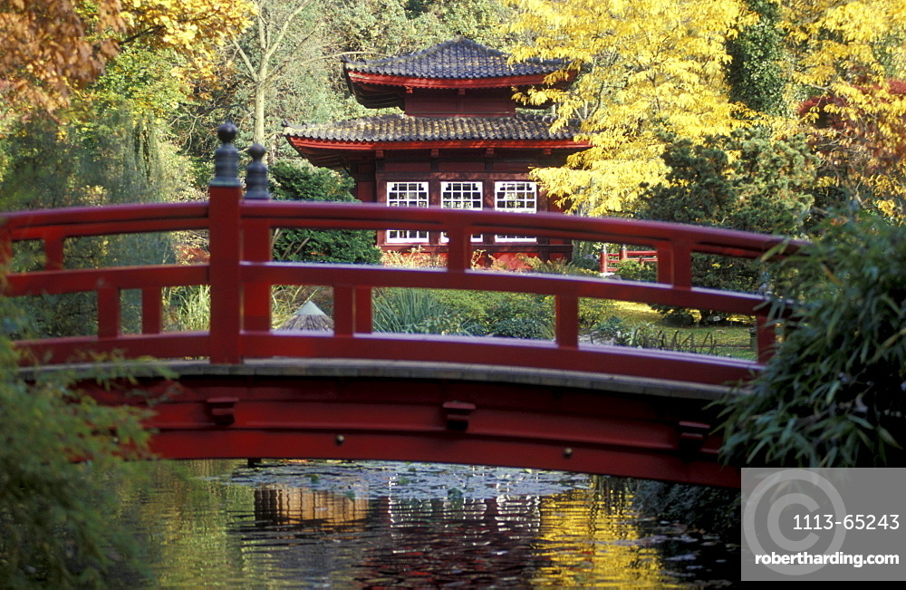Japanese Garden, Leverkusen, North Rhine-Westfalia, Germany