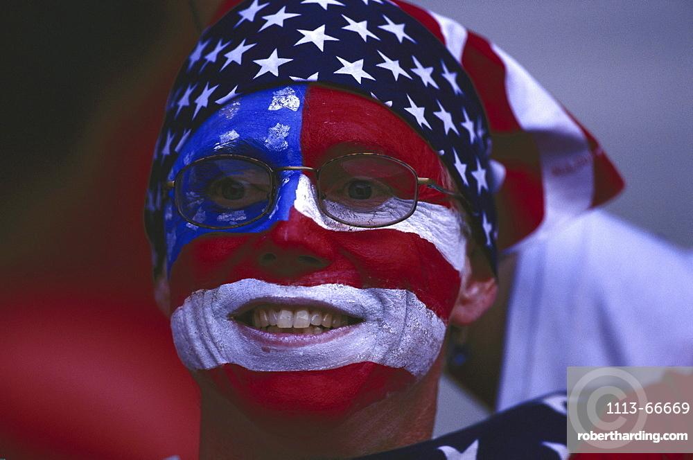 American football fan