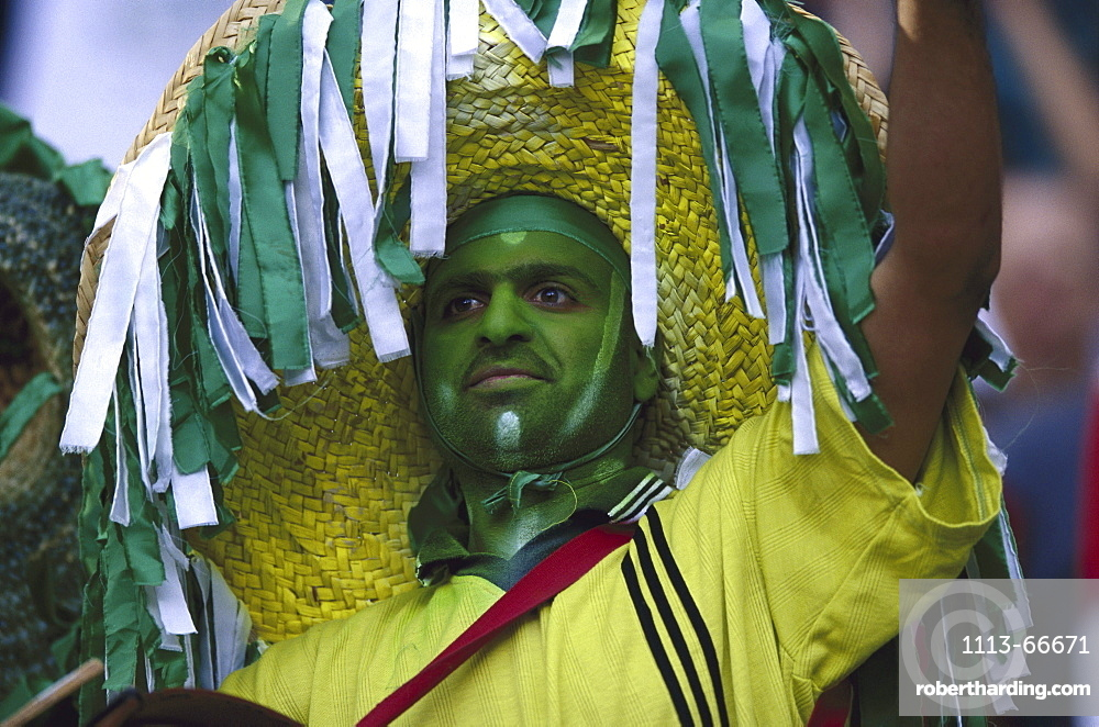 Football fan from Saudia Arabia