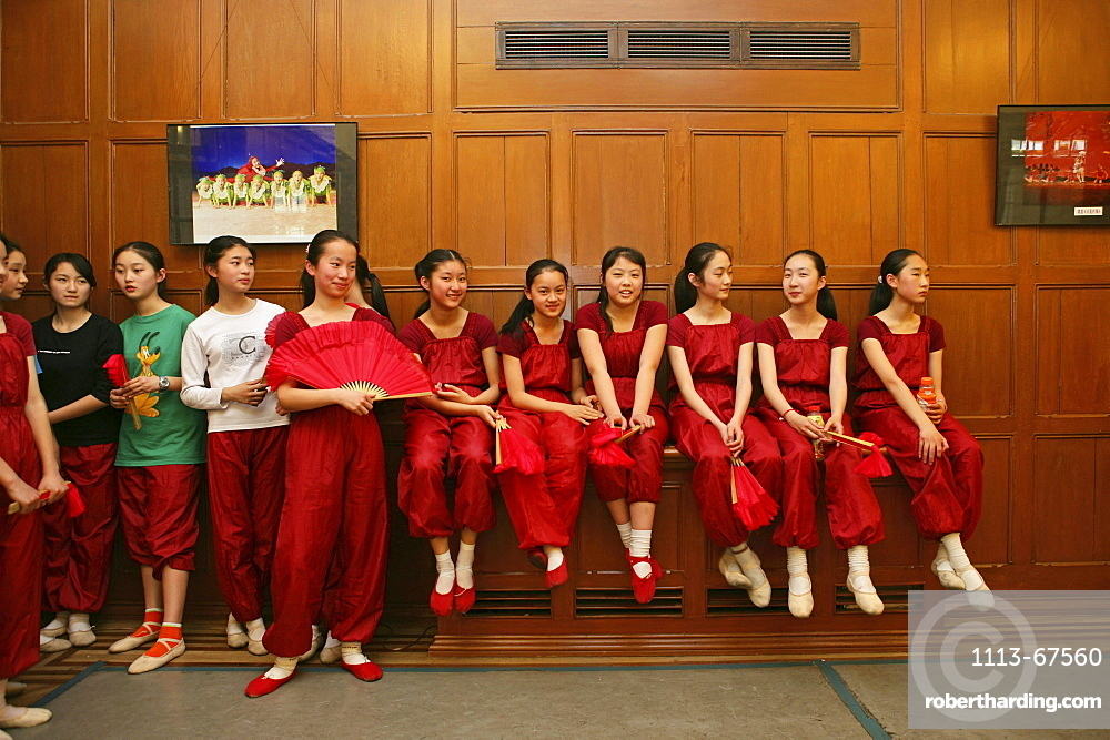 dance class for talented children, Children's Palace, Shanghai