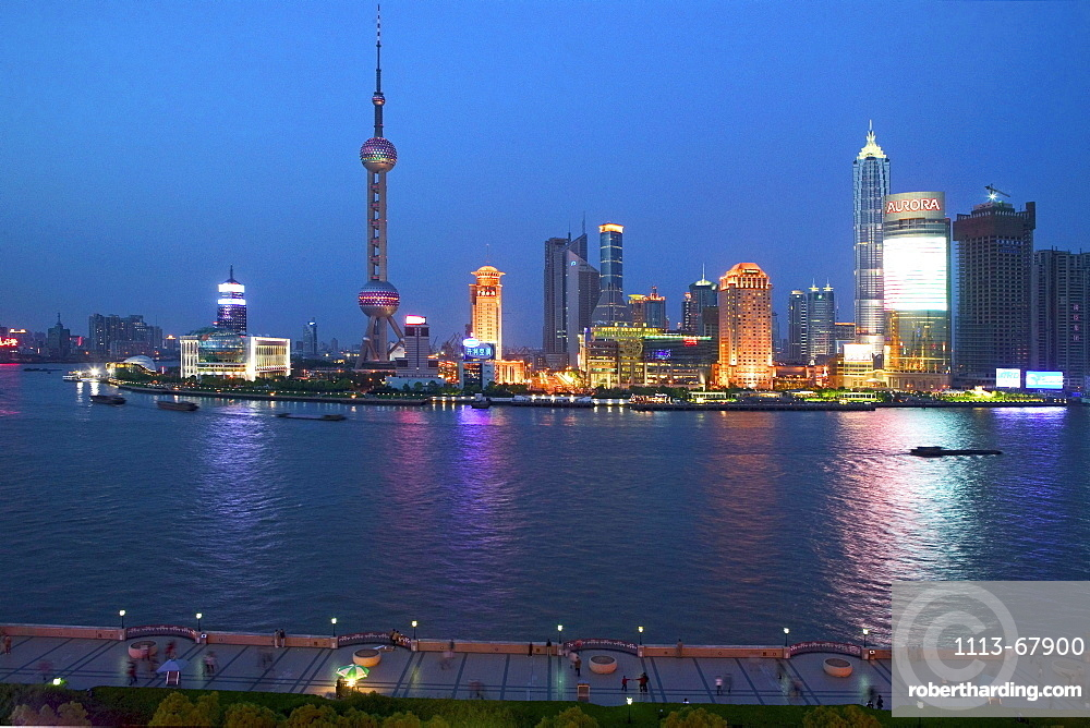 Skyline Pudong, Huangpu River, Pearl Orient Tower, Shanghai
