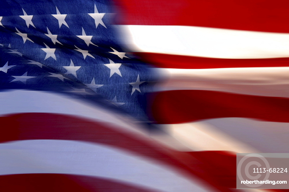 Stars and Stripes, us-american Flag, USA00057182