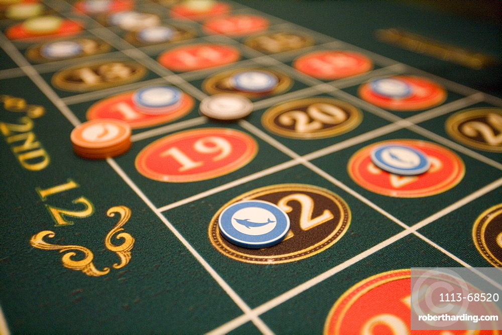 Playing Roulette at Casino Royale on Deck 4, Freedom of the Seas Cruise Ship, Royal Caribbean International Cruise Line