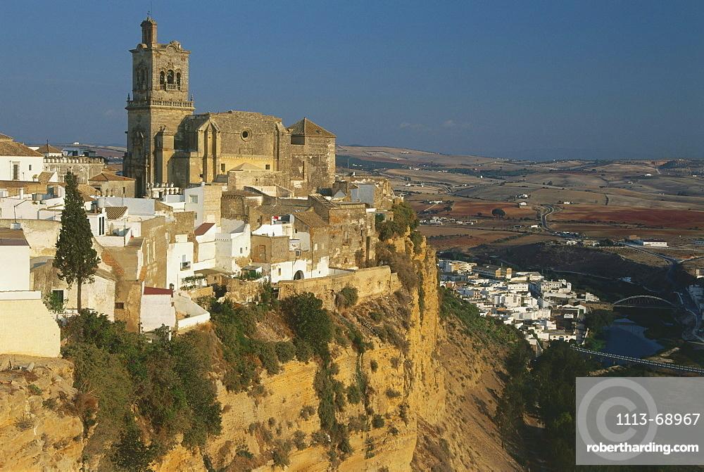 Arcos de le Frontera, white village, Province Cadiz, Andalusia, Spain