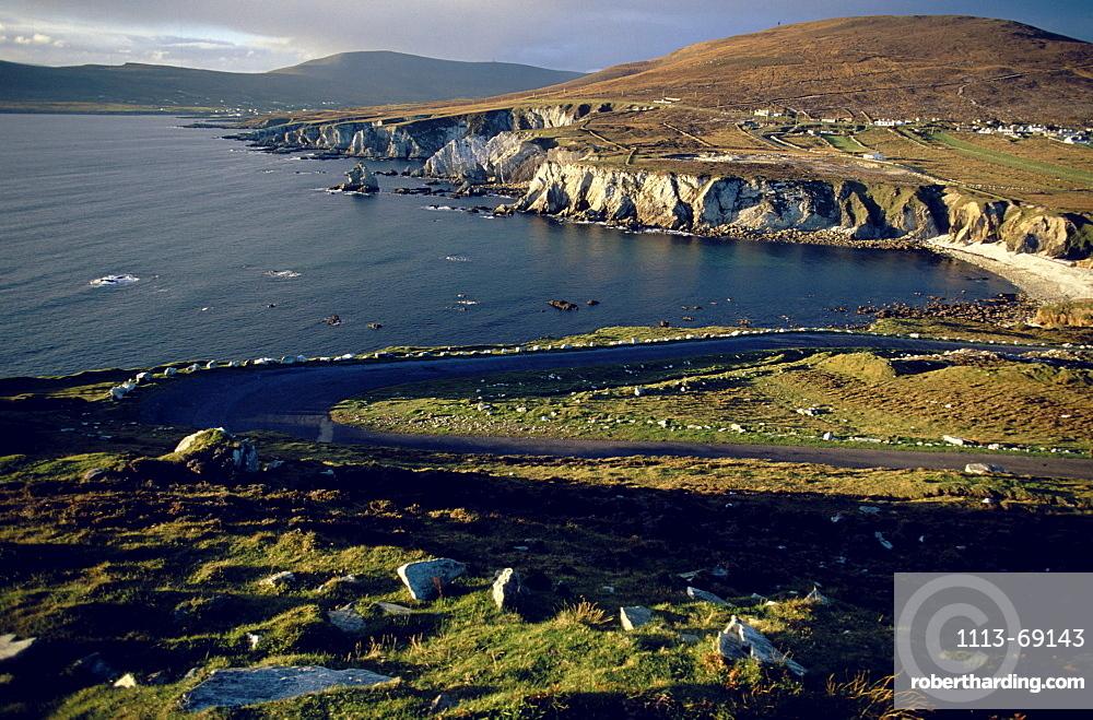 seaside at Atlantic drive, Achill Island, County Mayo, Ireland
