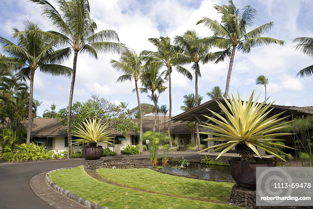 Hotel Hana Maui Entrance, Hana, Maui, Hawaii