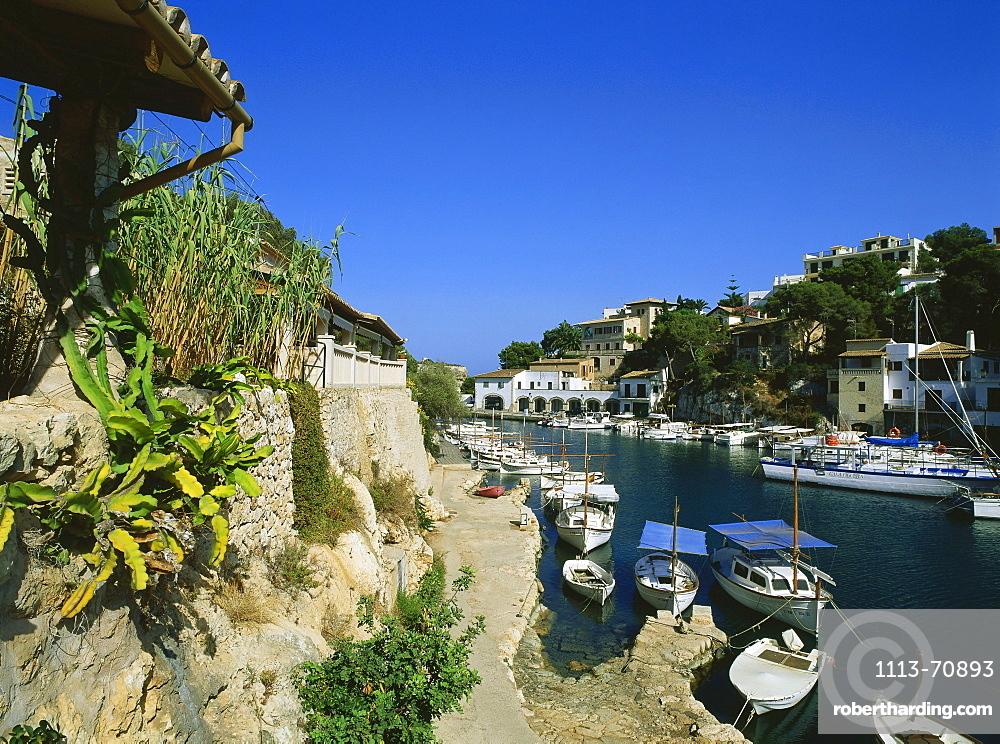 Fishing Port Cala Figuera, near Santanyi, Mallorca, Spain