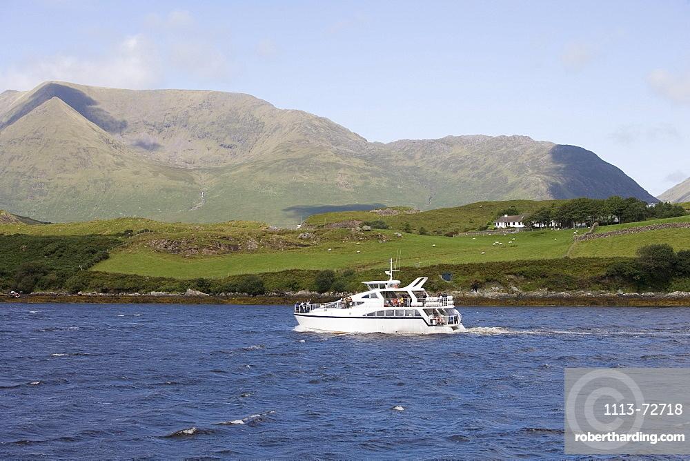 Connemara Lady Cruise Boat, Killary Cruises, Killary Fjord, County Galway, Ireland