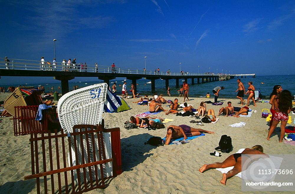 Luebecker Bucht, Timmendorfer Strand, Baltic Sea, Schleswig-Holstein, Germany, Europe