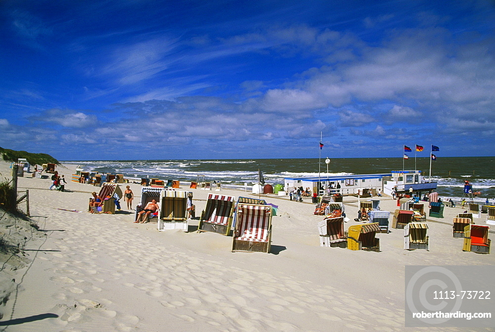 White dune, East Beach, Norderney, East Frisian Islands, Germany