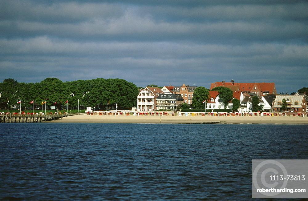 Beach, Wyk, Foehr Island, Schleswig-Holstein, Germany
