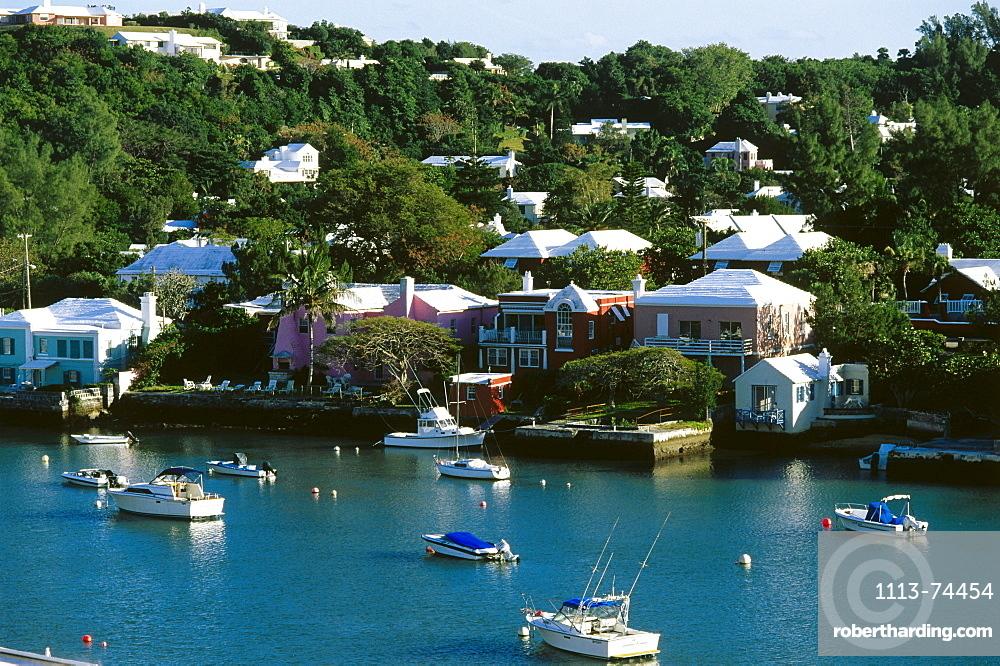 View of Hamilton Harbour, Hamilton, Bermuda