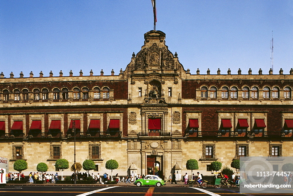 View of the National Palace, Mexico City, D.F., Mexico