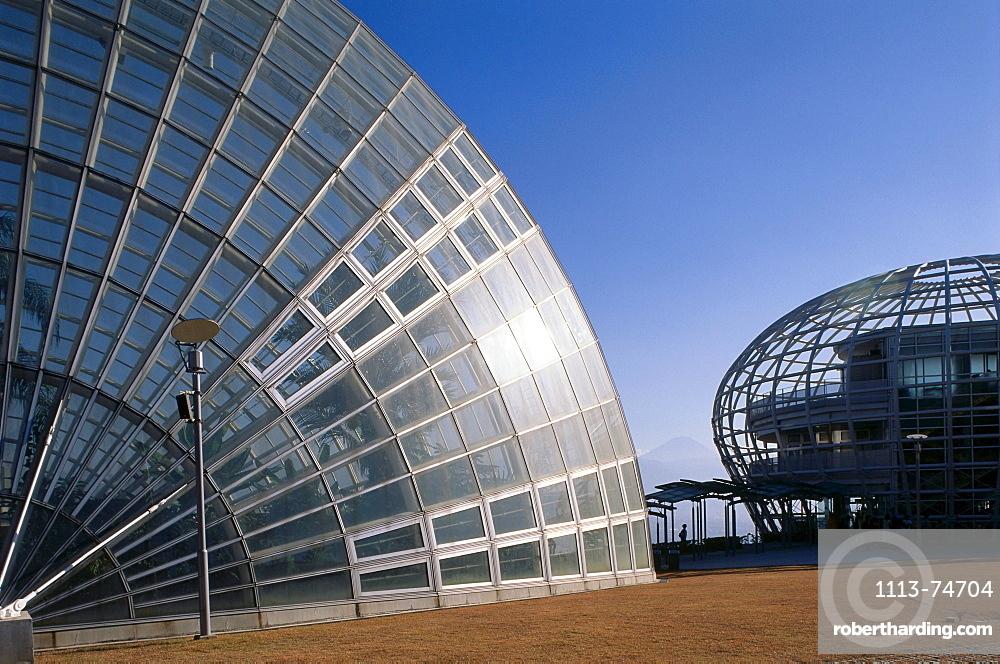 Glasshouse, Museum of Fruit, Yamanashi, Japan