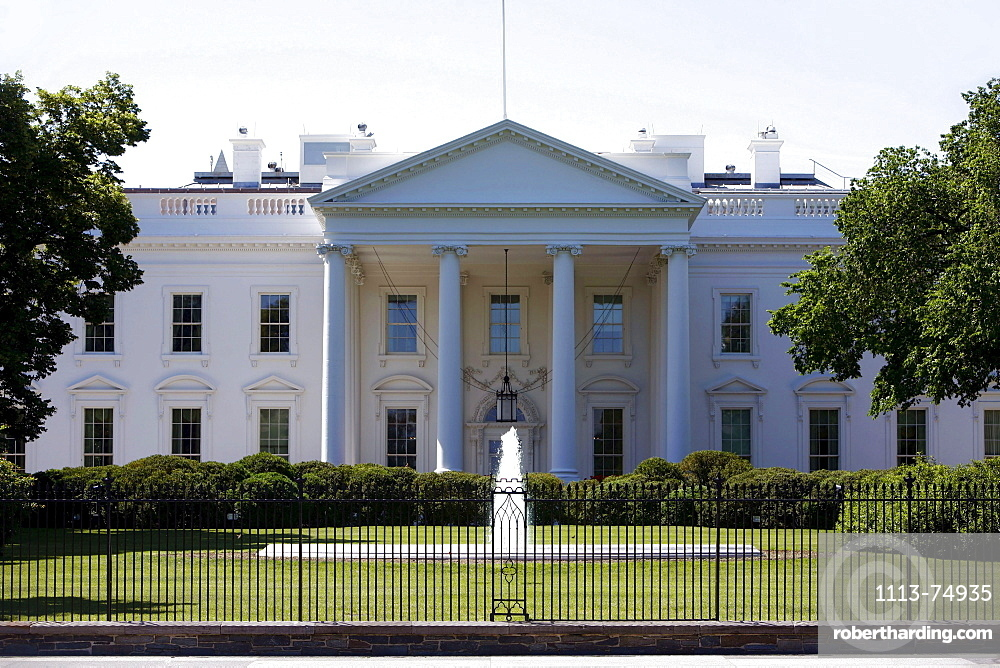 The White House, Washington DC, United States, USA