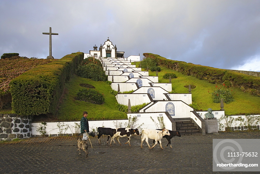 Church of Nossa Senhora da Paz, Villa Franco da Campo, Azores, Portugal