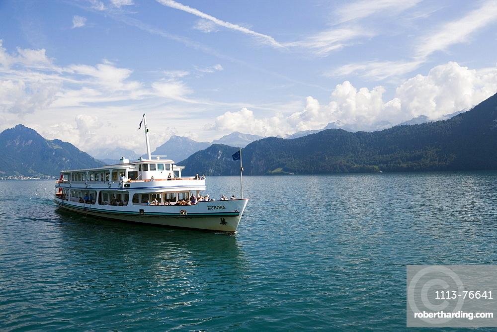 MS Europa on Lake Lucerne, Switzerland