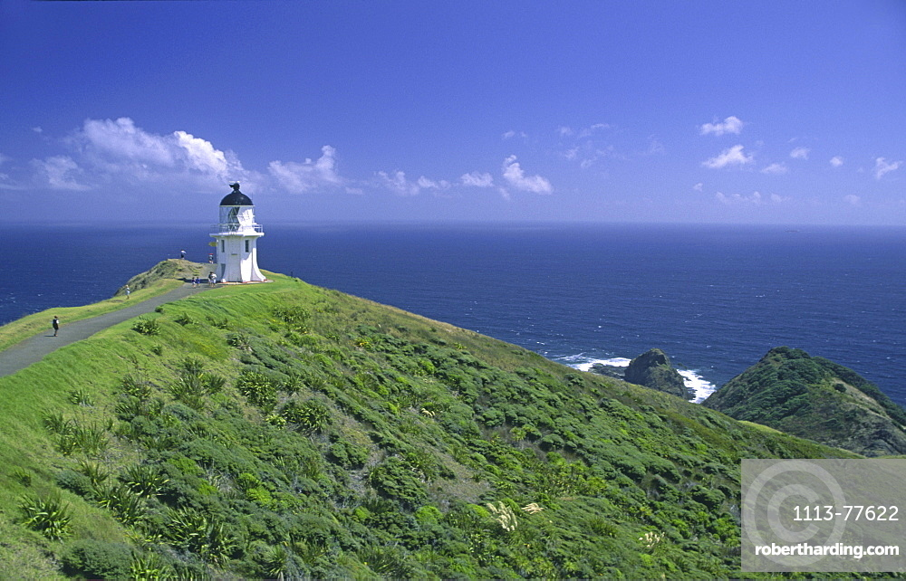 Outlook point, Cape Reinga, New Zealand