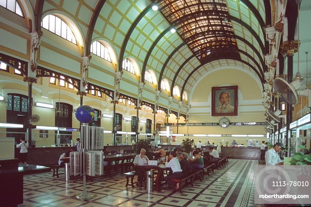 Post office, Ho Chi Minh, Saigon, Vietnam
