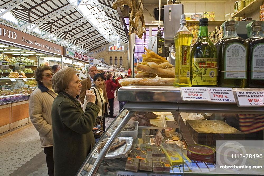 Mercado Central, central market, Valencia, Spain