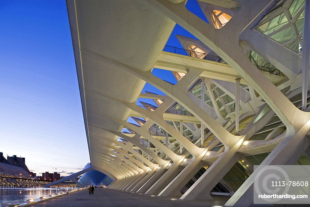 City of Arts and Sciences, Science Museum, Valencia, Spain