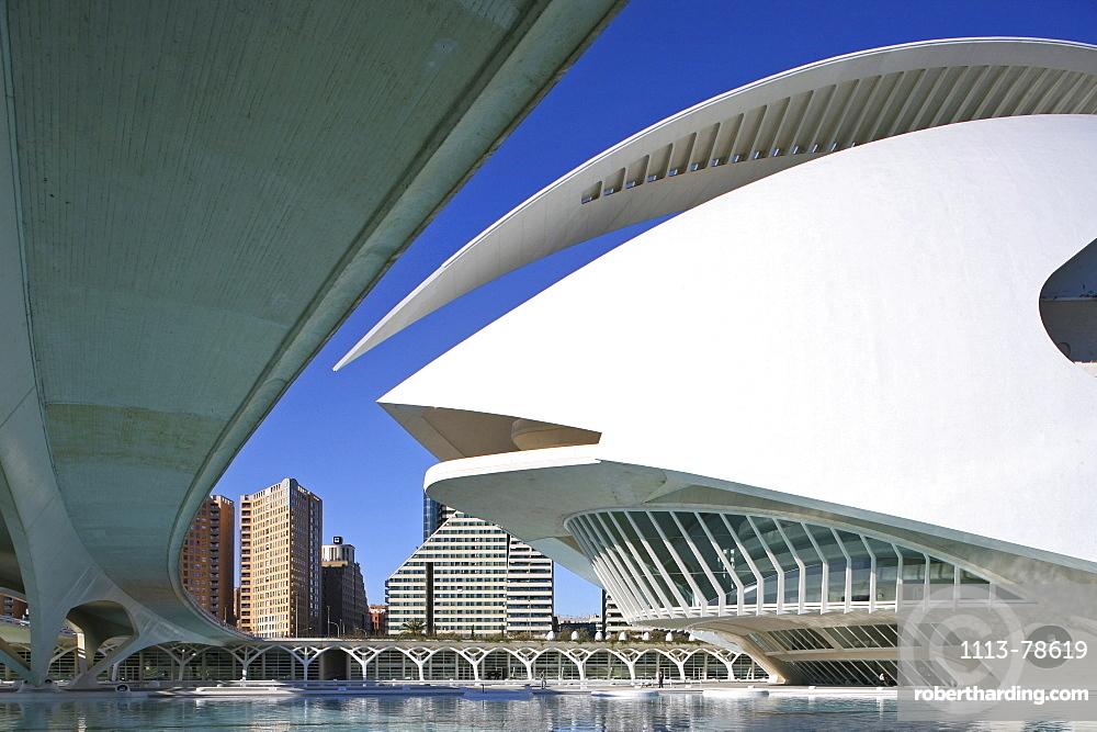 City of Arts and Sciences, Ciudad de las Artes y las Ciencias, Valencia, Spain