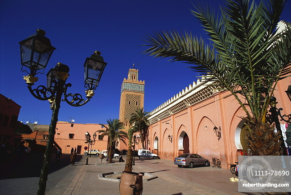 Kasbah Mosque, Marrakesh, Morocco, Africa