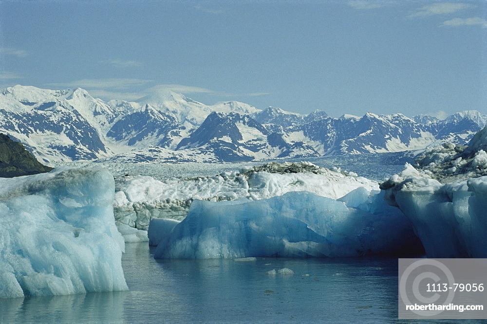 Columbia Glacier, Prince William Sound, Alaska, USA