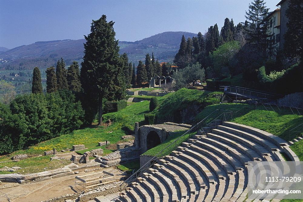 Teatro Romano, Fiesole, Tuscany, Italy