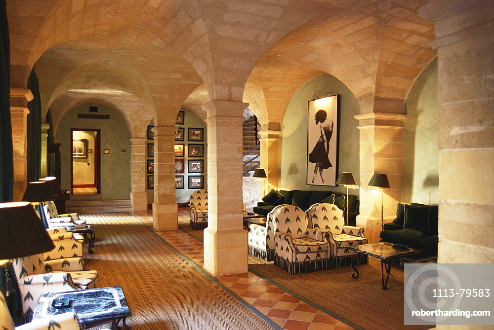 Bar area in Hotel Son Net, Holiday, Accomodation, Puigpunyent, Mallorca, Spain