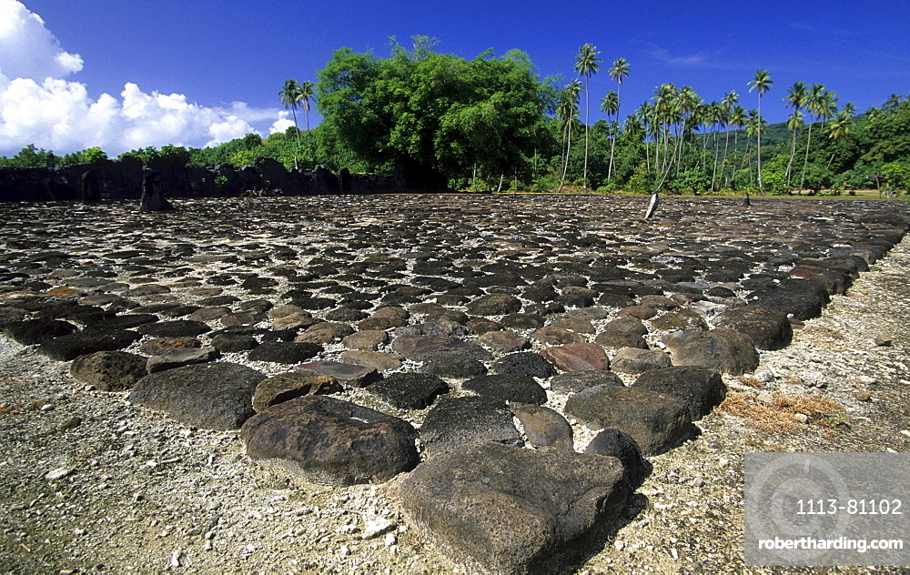 Marae Taputaputea, Raiatea, French Polynesia, south sea