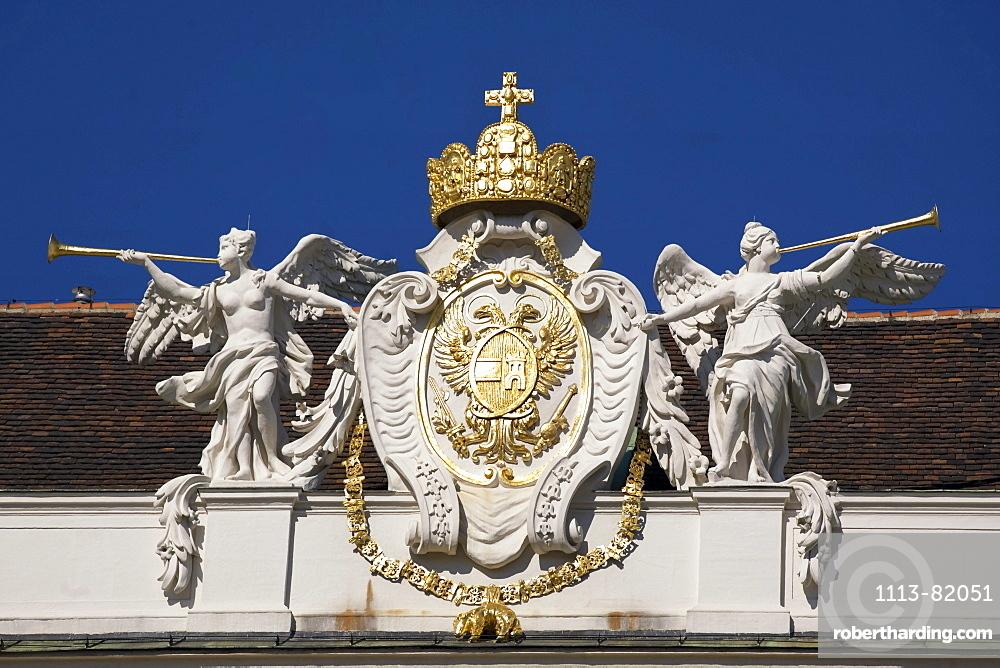 Vienna Hofburg architectural detail