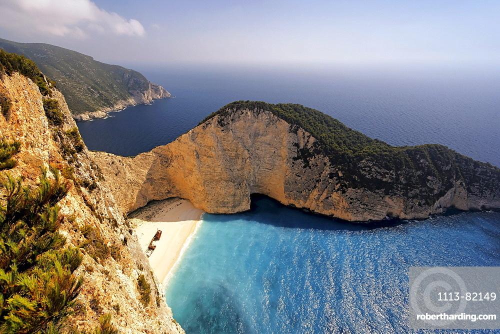 Griechenland Zakynthos Shipwreck bay