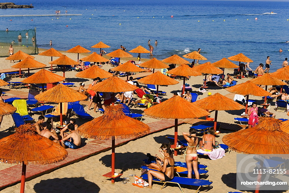 Griechenland Zakynthos Agios Nikolaos beach bar