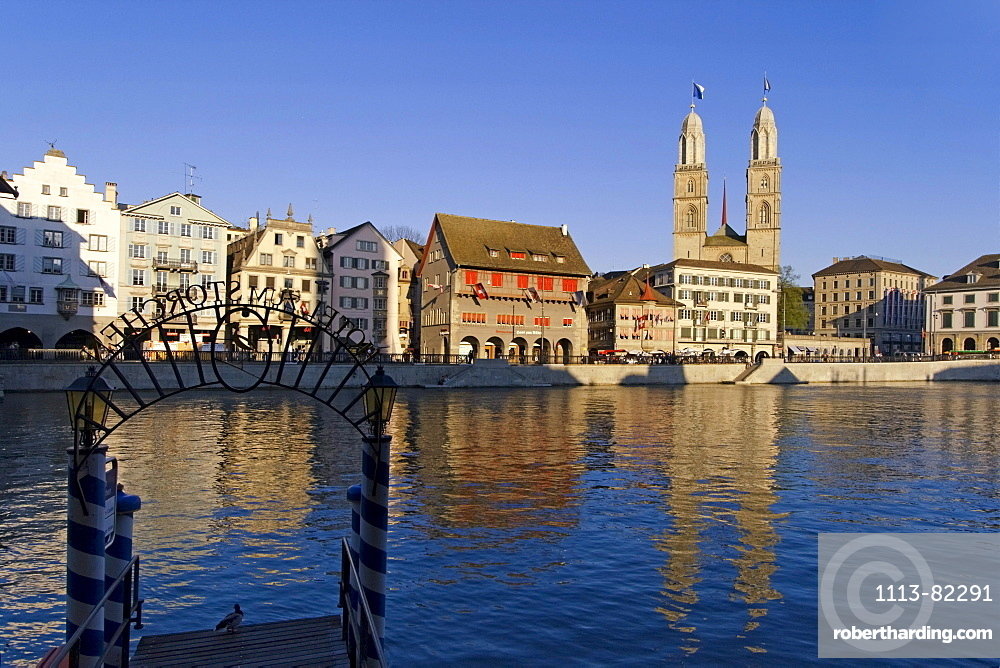 Switzerland Zurich, Grossmuenster, kathedral