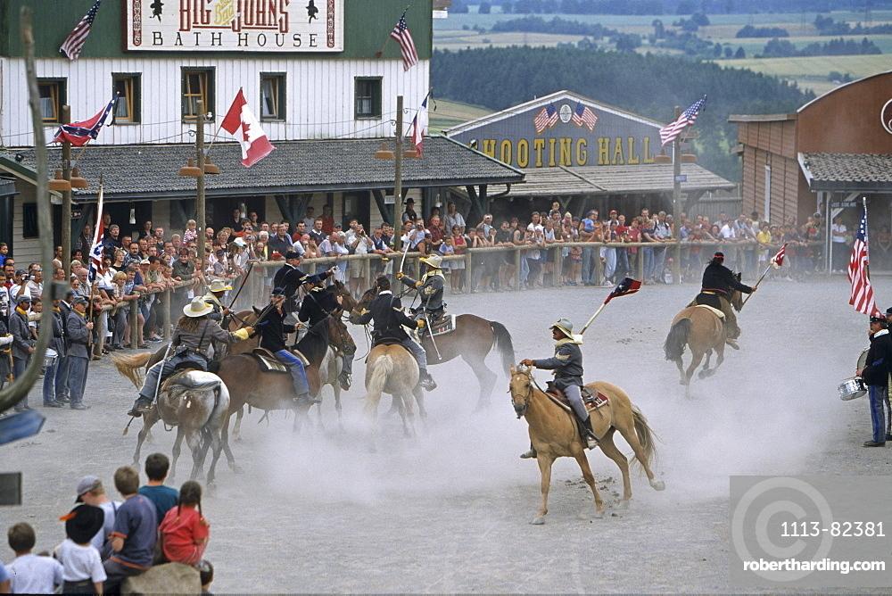 Pullman City, western show, Hasselfelde, Harz Mountains, Saxony Anhalt, Germany
